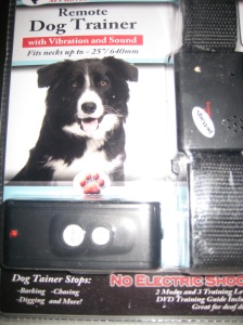 Remote Vibrating Dog Collar No Shock